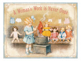 Busy Day in Dollville Prints by Bessie Pease Gutmann