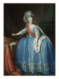 Queen Maria I, Francisca Isabella of Portugal 1734-1816, 18th century Lámina giclée