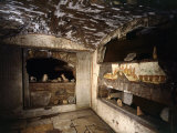 Cubiculum of the Sacraments, Catacombs of Saint Callistus, Rome, Italy Photographic Print
