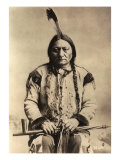 Sitting Bull (Tatanka Iyotake) 1831-90 Teton Sioux Indian Chief Lámina giclée