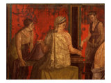 Women Performing Cult of Eleusinian Mystery, Fresco, from Villa of Mysteries, Pompeii Giclee Print