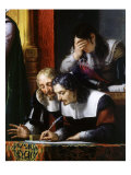 Men Writing from King Gustavus Adolphus of Sweden, 1594-1632 Giclee Print by Pelagio Palagi