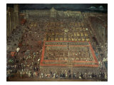 Plaza Mayor, Mexico City Giclee Print by Cristabel De Villalpando
