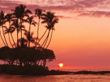 Sunset, Big Island, Hawaii, United States of America, Pacific, North America Photographic Print by Michael DeFreitas