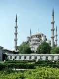 Suleymaniye Mosque, Constantinople, Turkey, Founded by Sultan Suleiman 1520-66 Photographic Print