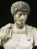 Bust of the Roman Emperor Lucius Verus (Lucius Aelius Aurelius Commodus), d. 169 AD Photographic Print