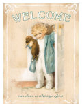 Welcome Print by Bessie Pease Gutmann