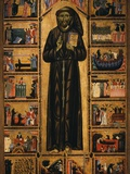 Altarpiece with Life of Saint Francis of Assisi Photographic Print by  Tuscan School