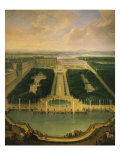 Chau de Versailles, France, seen from Neptune basin, 1696 Giclee Print by Jean-Baptiste Martin