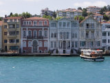 The Restored Waterfront Buildings of Yenikoy on the Bosphorus, Istanbul, Turkey, Europe Photographic Print by Martin Child