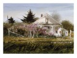 Rural Roses Giclee Print by Thomas William Jones