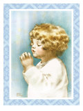 God Bless Mama and Papa Print by Bessie Pease Gutmann