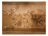 Battle of Issus Between Alexander the Great, 356-323 BC Giclee Print