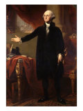George Washington, 1732-99, 1st President of the United States Reproduction procédé giclée par George Peter Alexander Healy