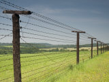 Only Section That Remains of Iron Curtain in Czech Republic Photographic Print by Richard Nebesky