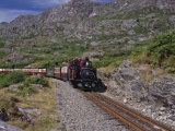 Ffestiniog Railway at Tanygrisiau Photographic Print by Nigel Blythe