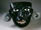 Mask, with Earrings, from Teotihuacan, Mexico Photographic Print