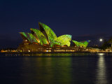 Festival of Light, Sydney Opera House, Sydney, New South Wales, Australia Photographic Print by Mark Mawson