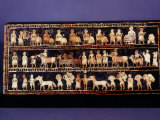 The Standard of Ur, Sumerian, Southern Iraq, c. 2500 BC Photographic Print