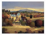 Lazy Evening, St. Genies Giclee Print by Max Hayslette