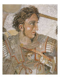 Alexander, King of Macedon, from Battle of Issus between Alexander the Great and Darius III Giclee Print