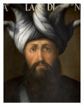 Saladin, 1138-93, Muslim Sultan who Fought Crusaders Giclee Print