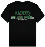 It&#39;s Always Sunny in Philadelphia - Paddy&#39;s Pub Black (Slim Fit) T-shirts