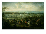 Battle of Pavia February 25, 1525 Giclee Print by Francesco Poli