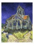 L'ise d'Auvers-sur-Oise vue du Chevet (Church of Auvers-sur-Oise), 1890 Giclee Print by Vincent van Gogh