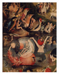 Allegory of Luxury, Central Panel of The Garden of Earthly Delights, c. 1503-04 Giclee Print  by  Hieronymus Bosch