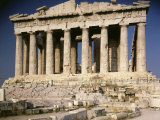 The Parthenon, 477 - 438 Doric Greek, Architects Ictinus and Callicrates with Phidias Photographic Print