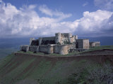 Fortress of Krak des Chevaliers, Syria, Built by Knights of Saint John Photographic Print