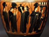Women at a Fountain, Black-figure Amphora, 7th century BC Attic Greek Photographic Print