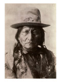 Sitting Bull (Tatanka Iyotake) 1831-1890 Teton Sioux Indian Chief Lámina giclée