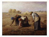 The Gleaners Giclee Print by Jean-Francois Millet