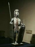 Roman Legionary, Bronze Statue, 2nd-1st Century BC Photographic Print