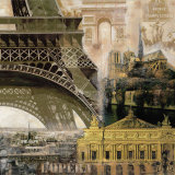 Paris II Prints by John Clarke
