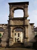 Renaissance Double Arch, Chau de Gaillon, Eure, France Photographic Print