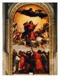 The Assumption of the Virgin, 1516-18 Giclee Print by Titian