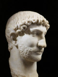 Hadrian, 76-138 AD Roman Emperor, marble, 117-38 AD Photographic Print