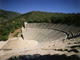 The Theatre at Epidauros, 4th century BC Classical Greek Photographic Print