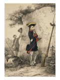 Napoleon Bonaparte, 1769-1821, as a pupil at the Ecole Militaire, 1783 Giclee Print by Nicolas Toussaint Charlet