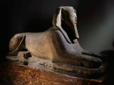 Amenhotep III, 1390-1352 BC 18th Dynasty New Kingdom Egyptian Pharaoh, as Sphinx, Limestone Photographic Print