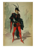 Costume Design by G. Palanti for the Opera Mephistopheles by Arrigo Boito Giclee Print by Giuseppe Palanti