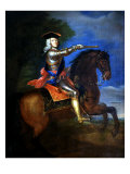 Portrait of George I, 1660-1727 King of England Giclee Print by Godfrey Kneller