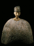 Large Idol with Green Cap, Schist or Lapis-lazuli, Bactrian, Afghanistan, c.2500-2000 BC Photographic Print
