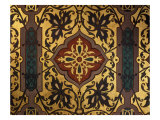 Painted Cloth in Henry II Style, Chambre of Catherine de Medici, Chau de Blois, France Giclee Print