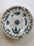 Fujian Plate with Maritime Motif, Swatow Porcelain,1573-1620, Ming Dynasty Photographic Print