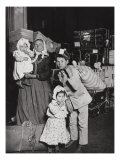 Italian Immigrants Arriving at Ellis Island, New York, 1905 Giclee Print by Lewis Wickes Hine