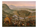 Siege of Vienna by Turks on July 14, 1683 Giclee Print by Frans Geffels